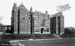 Blackburn, Nurses Home 1899