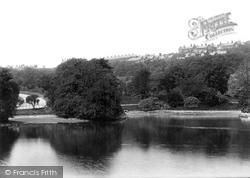 Blackburn, Park Lake 1895