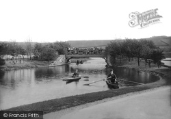 Blackburn, Queen's Park Lake 1899