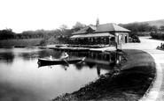 Blackburn, Queens Park Lake 1923