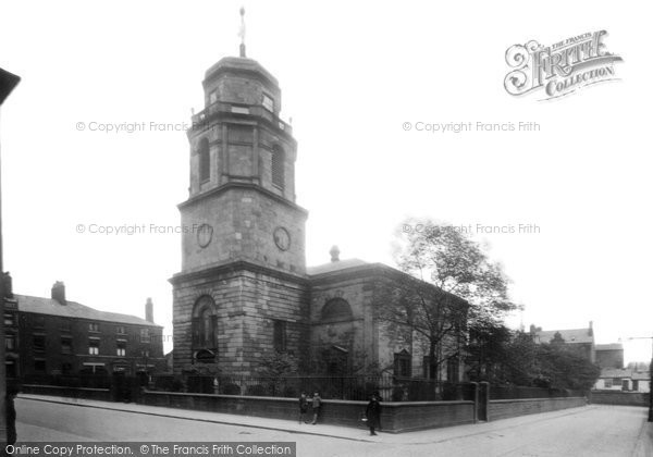 Blackburn, St John's Church 1923