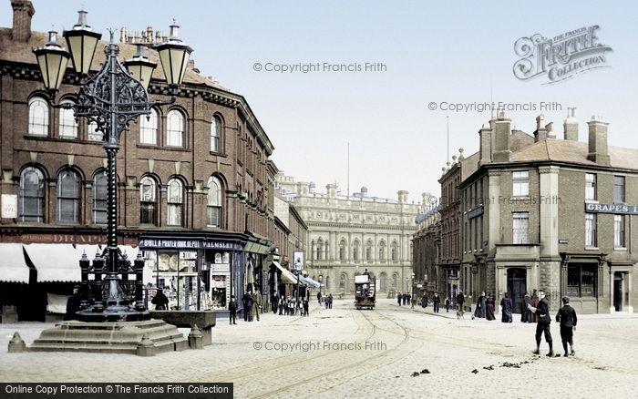 Blackburn, Sudell Cross 1895