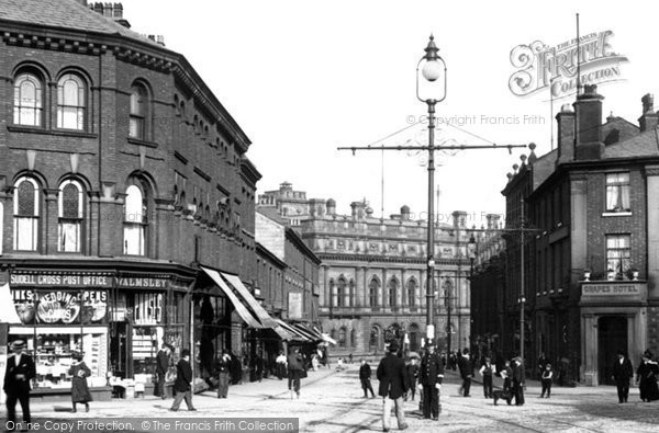 Blackburn, Sudell Cross c.1901