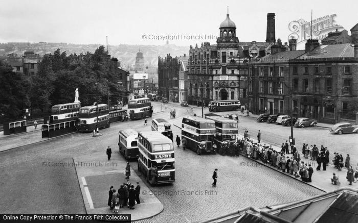 Blackburn, the Boulevard c1950