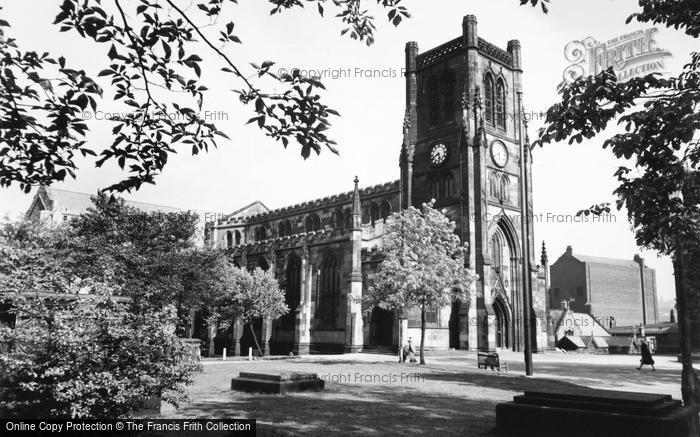 Photo of Blackburn, the Cathedral c1955