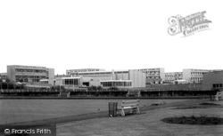 Blackburn, The Centre And Bowling Green c.1960