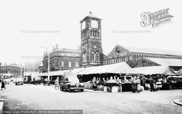 Photo of Blackburn, the Market c1960