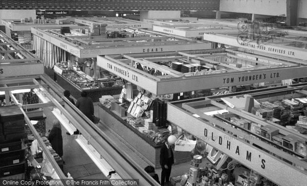 Blackburn, The Market Hall c.1965
