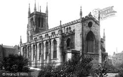 Blackburn, The Parish Church 1894