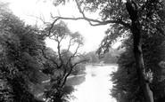 Blackburn, The Park, Peep Of The Lake 1894