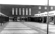 Blackburn, the Shopping Centre and Golden Hind Hotel c1960