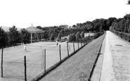 Blackburn, The Tennis Courts c.1950
