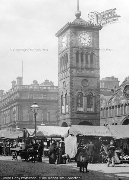 Blackburn, The Town Hall 1894