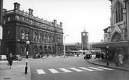 Blackburn, The Town Hall c.1955