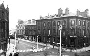 Blackburn, The White Bull Hotel c.1955