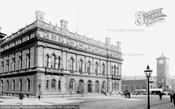 Blackburn, Town Hall 1894