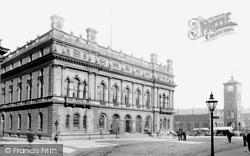 Blackburn, Town Hall 1894