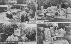 Blackgang Chine, Composite, The Model Village c.1955