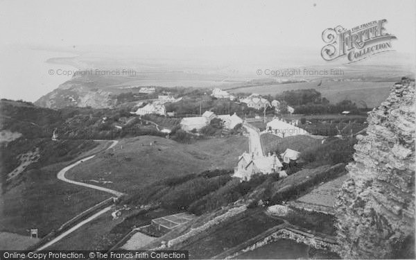Photo of Blackgang Chine, From Gore Cliff c.1900