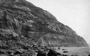 Blackgang Chine, From The Beach c.1883