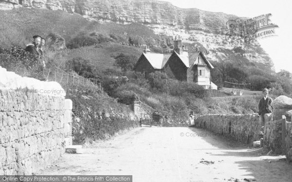 Photo of Blackgang Chine, House, The Undercliff 1896