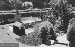 Blackgang Chine, Model Village, Brading Church c.1955