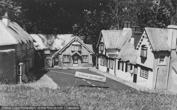 Photo of Blackgang Chine, Model Village, Shanklin c.1955