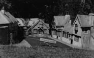 Blackgang Chine, Model Village, Shanklin c.1955
