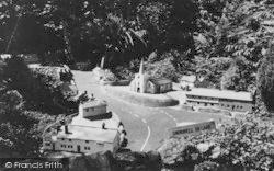 Blackgang Chine, Model Village, Shorwell Village c.1955