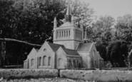 Blackgang Chine, Model Village, Whippingham Church c.1955