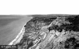 Blackgang Chine, the Cliffs c1960