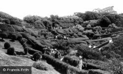 Blackgang Chine, The Gardens c.1955