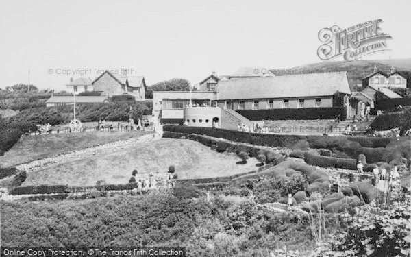 Photo of Blackgang Chine, The Gardens c.1960