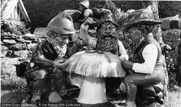 Photo of Blackgang Chine, The Gnomes c.1960