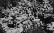 Blackgang Chine, The Gnomes' Pool c.1955