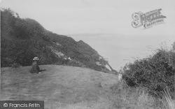 Blackgang Chine, The Landslip And Culver Cliffs 1913