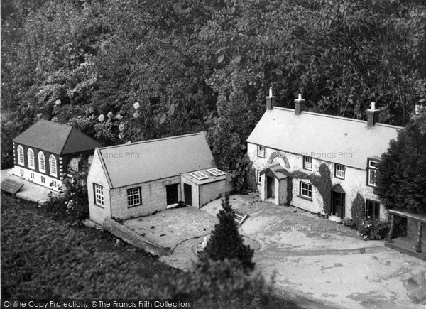 Photo of Blackgang Chine, The Model Village c.1955