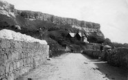 Blackgang Chine, The Undercliff 1896