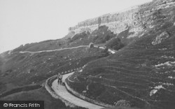 Blackgang Chine, The Undercliff 1913