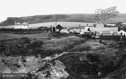 Blackgang Chine, View From The Observatory c.1883