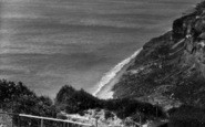 Blackgang Chine, View From The Observatory c.1955