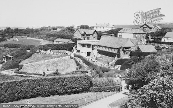 Photo of Blackgang Chine, View From The Observatory c.1960