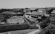 Blackgang Chine, View From The Observatory c.1960