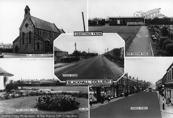 Blackhall Colliery, Composite c.1965