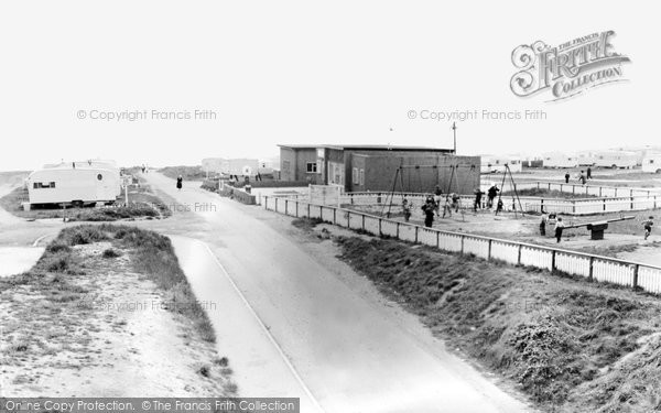 Photo of Blackhall Colliery, Crimdon Caravan Site c.1965