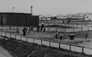 Blackhall Colliery, Crimdon Caravan Site, The Playground c.1965