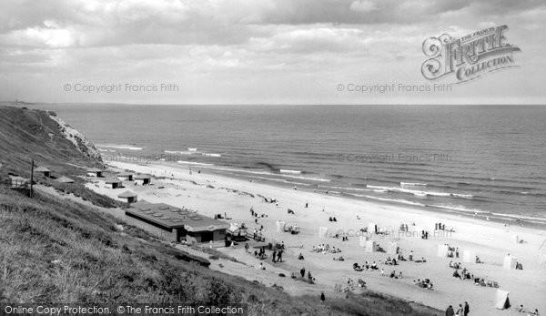 Blackhall Colliery, Crimdon Dene Beach c.1965
