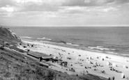 Blackhall Colliery, Crimdon Dene Beach c1965