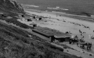 Blackhall Colliery, Crimdon Dene Beach Cafe c.1965