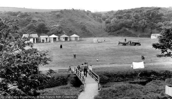 Photo of Blackhall Colliery, Crimdon Dene c1965, ref. b327006